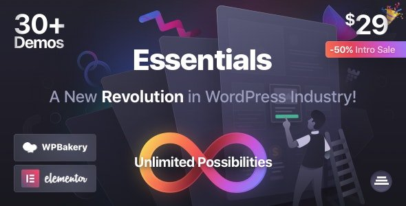 Essentials | Multipurpose WordPress Theme v1.2.1