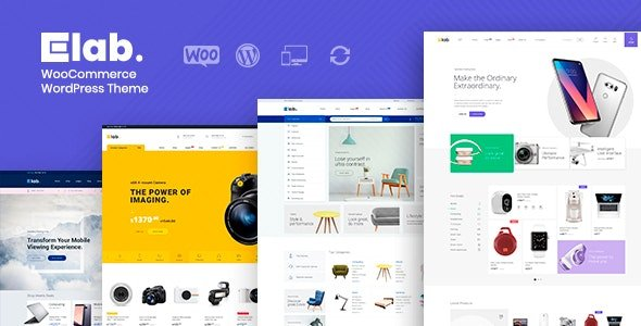 eLab - WooCommerce Marketplace WordPress Theme v1.2.2