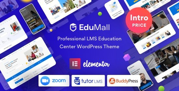 EduMall - Professional LMS Education Center WordPress Theme v1.3.6