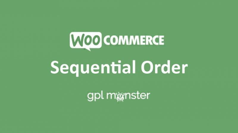WooCommerce Sequential Order Numbers Pro