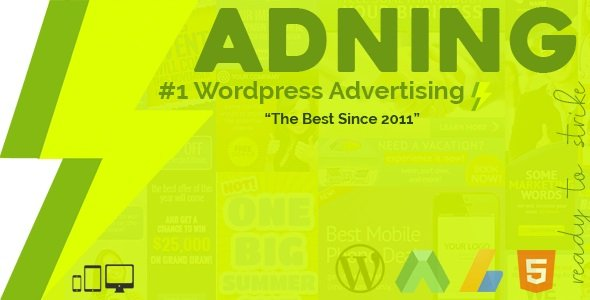 Adning Advertising - All In One Ad Manager for Wordpress v1.6.0