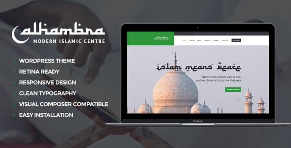 Alhambra | Islamic Centre WordPress Themes + RTL v1.1.4