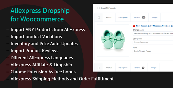 AliExpress Dropshipping Business plugin for WooCommerce v1.18.3