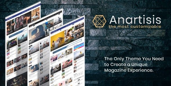 Anartisis – News & Magazine Blogger Theme v1.7.5
