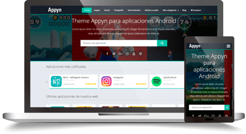 Appyn - Themespixel WordPress Theme