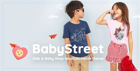 BabyStreet - WooCommerce Theme for Kids Stores and Baby Shops Clothes and Toys v1.3.3.1