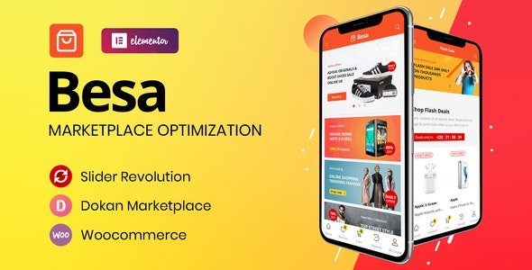 Besa – Elementor Marketplace WooCommerce Theme v1.3.0