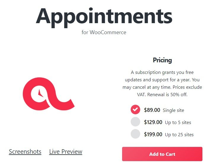 BookingWP WooCommerce Appointments v4.11.7