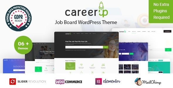 CareerUp - Job Board WordPress Theme