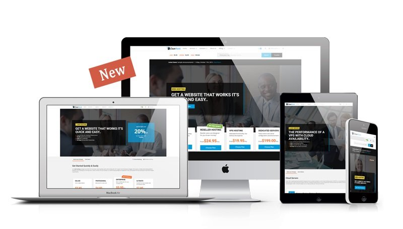 Clean – WHMCS Template v3.0.1