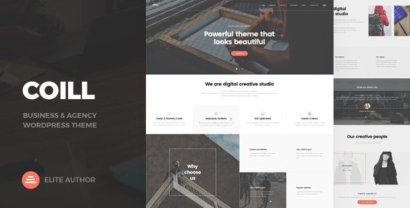 Coill - Business & Agency WordPress Theme