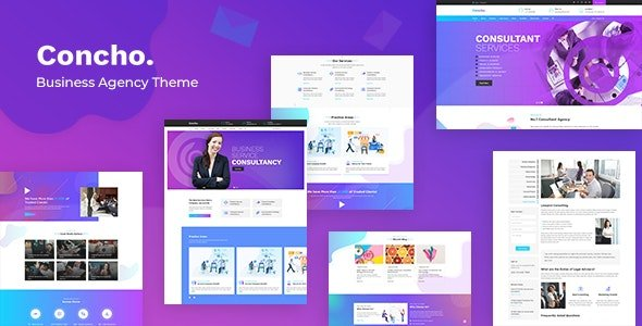 Concho - HR, Consulting Services WordPress Theme