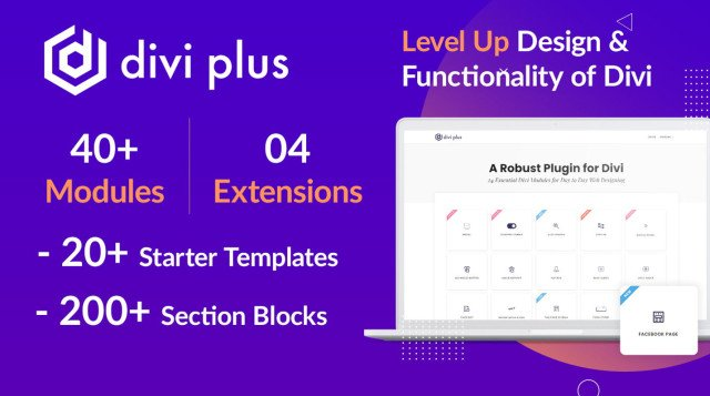 Divi Plus - 41 Powerful Modules for Divi Theme