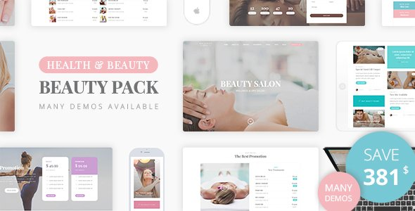 Beauty Wellness - Spa Massage WordPress Theme v1.6