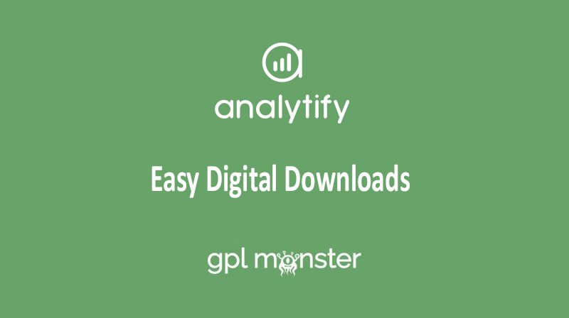 Analytify Pro Easy Digital Downloads v1.1.0