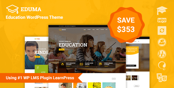 Eduma – Education WordPress Theme v4.2.9.8