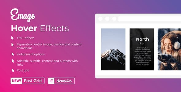 Emage - Image Hover Effects for Elementor Pro