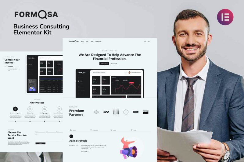 Formosa - Business Consulting Elementor Template Kit