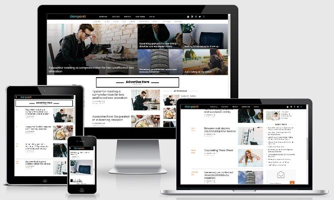 Gampang - Clean and Responsive Blogger Template