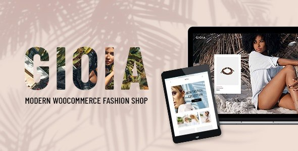 Gioia - Modern Fashion Shop WordPress Theme
