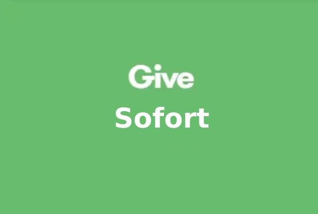 Give Sofort Gateway