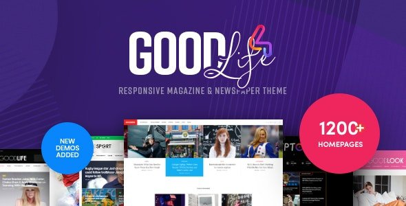 GoodLife - Magazine & Newspaper WordPress Theme v4.2.0