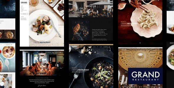 Grand Restaurant - WordPress Theme v6.1