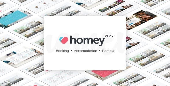 Homey - Booking and Rentals WP Themes