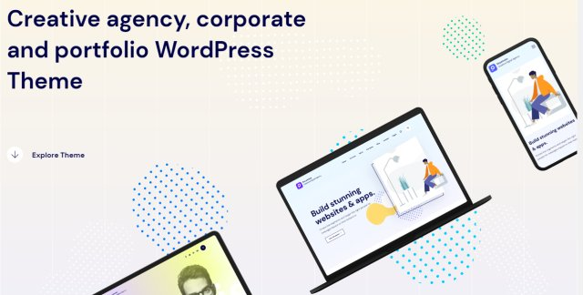 Keystroke – Creative Agency, Digital Agency WordPress Theme v1.0.5