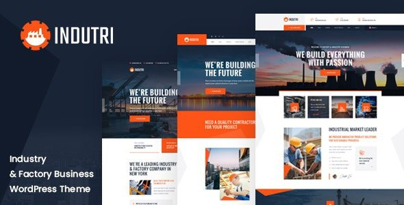 Indutri – Factory & Industrial WordPress Theme