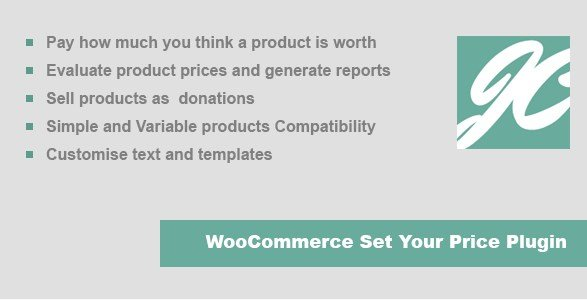 JC WooCommerce Set Your Price Plugin