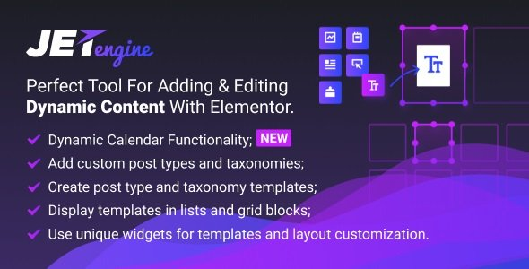JetEngine – Adding & Editing Dynamic Content with Elementor v2.7.8
