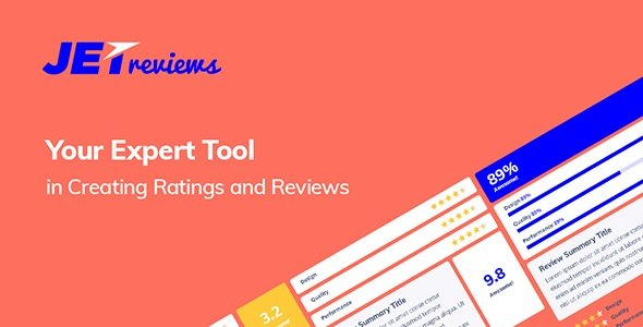 JetReviews – Reviews Widget for Elementor Page Builder v2.1.0