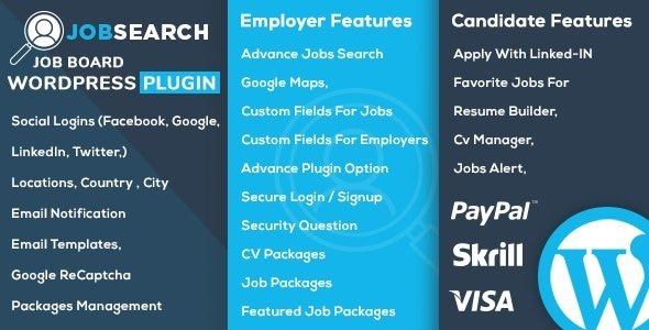 JobSearch - WP Job Board WordPress Plugin v1.6.4