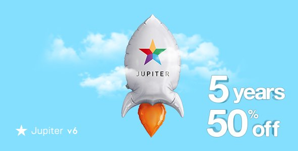 Jupiter – Multi-Purpose Responsive Theme v6.8.0 + JupiterX v1.23.0