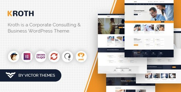 Kroth - Business & Consulting WordPress Theme
