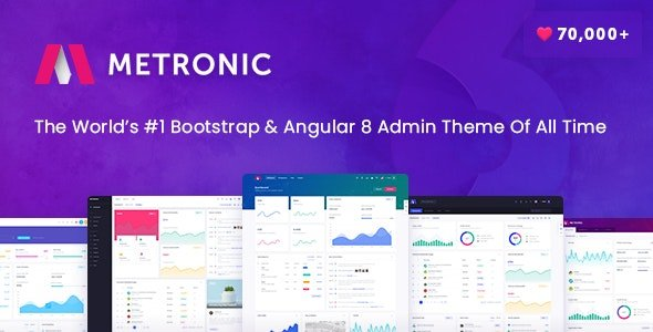 Metronic Responsive Admin Dashboard Template v7.1.6