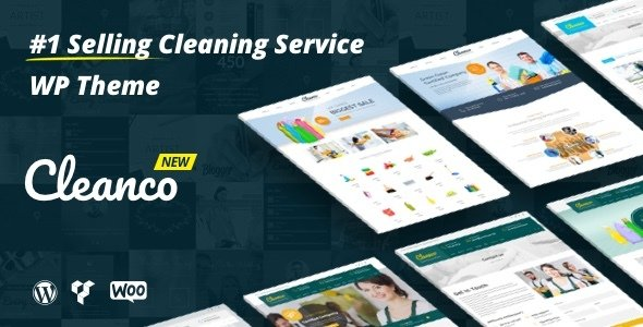 Cleanco - Cleaning Service Company WordPress Theme v3.1.2