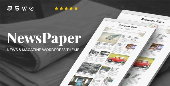 NewsPaper News and Magazine WordPress Theme