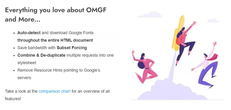 OMGF Pro - Host Google Fonts Locally for Wordpress