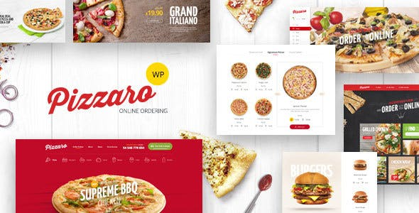 Pizzaro - Fast Food & Restaurant WooCommerce Theme v1.2.7