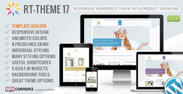 RT-Theme - 17 Responsive Wordpress Theme