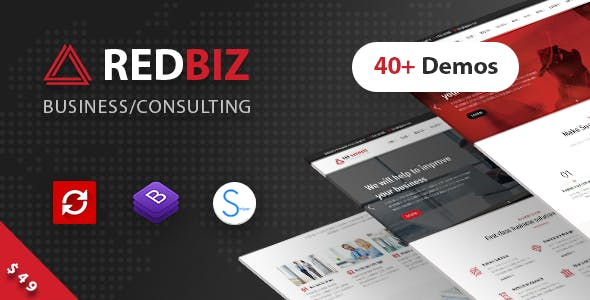 RedBiz - Finance & Consulting Multi-Purpose WordPress Theme v1.1.7