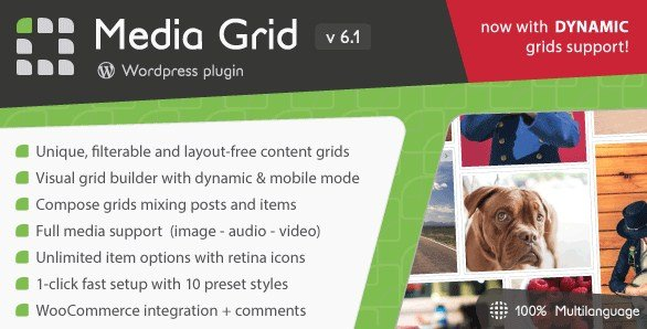 Media Grid WordPress Responsive Portfolio Plugin v6.482
