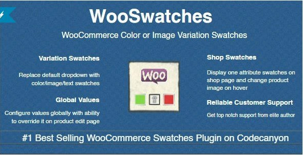 WooSwatches, Woocommerce Color or Image Variation Swatches