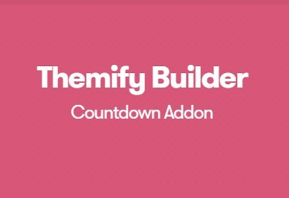Themify Builder Countdown Addon