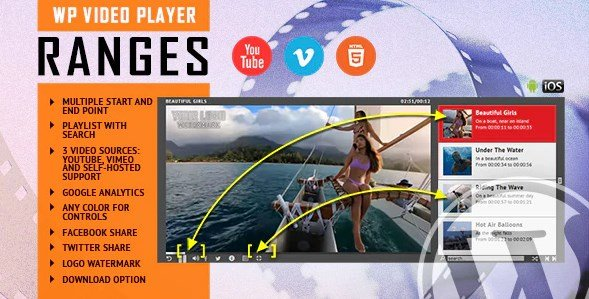 RANGES – Video Player With Multiple Start and End Points