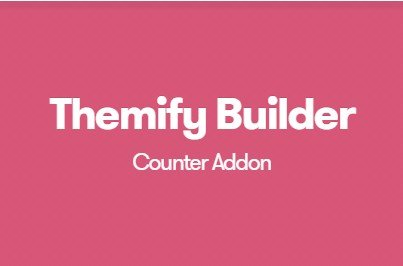Themify Builder Counter Addon