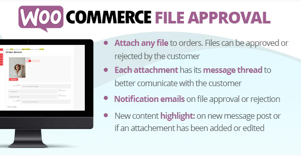 WooCommerce File Approval Plugin
