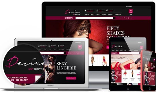 YITH Desire Sexy Shop Premium WooCommerce Themes
